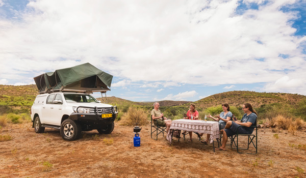 Okavango Car Hire in Namibia